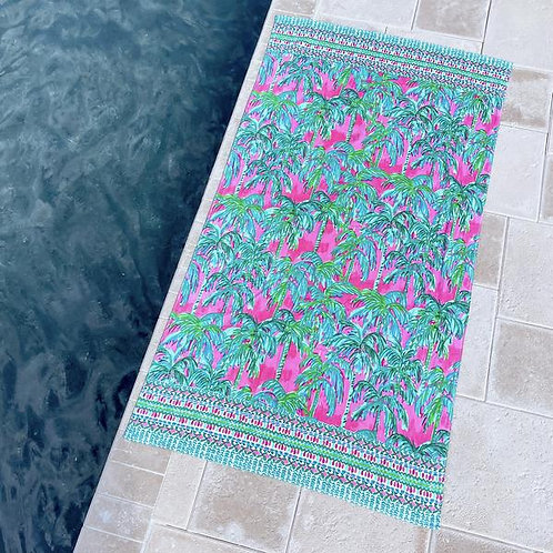 Lilly Pulitzer Beach Towel Circle - Suite Views 215404