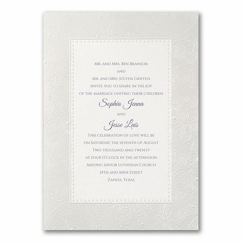 Lavish Pearl Invitation -WR13525