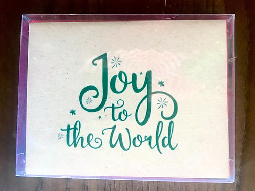 JW Green Joy to the World Holiday Boxed Set