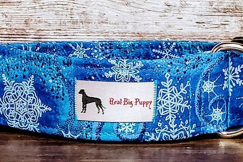 Real Big Puppy Collar 21- Holiday