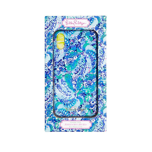 lilly pulitzer iphone x/xs case, wave after wave