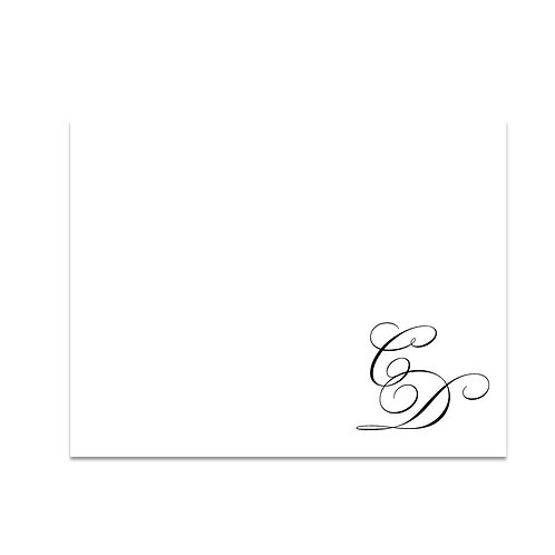 50 Custom Grad Thank You Notecards and Envelopes