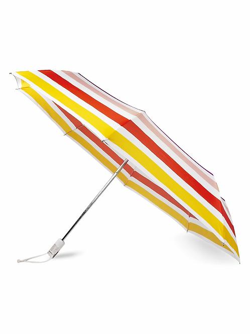 Kate Spade Travel Umbrella, Candy Stripe -213935