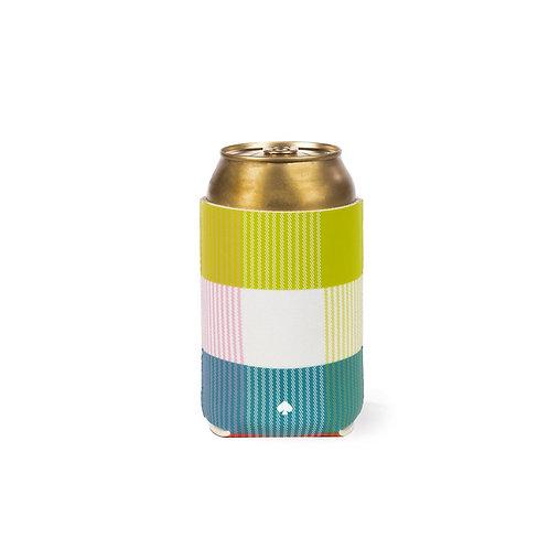 kate spade new york drink hugger, rainbow plaidê