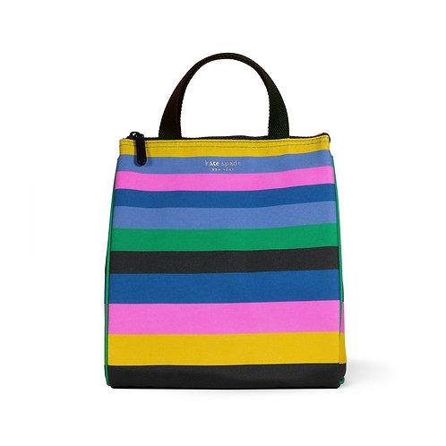 Kate Spade New York lunch bag, enchanted stripe