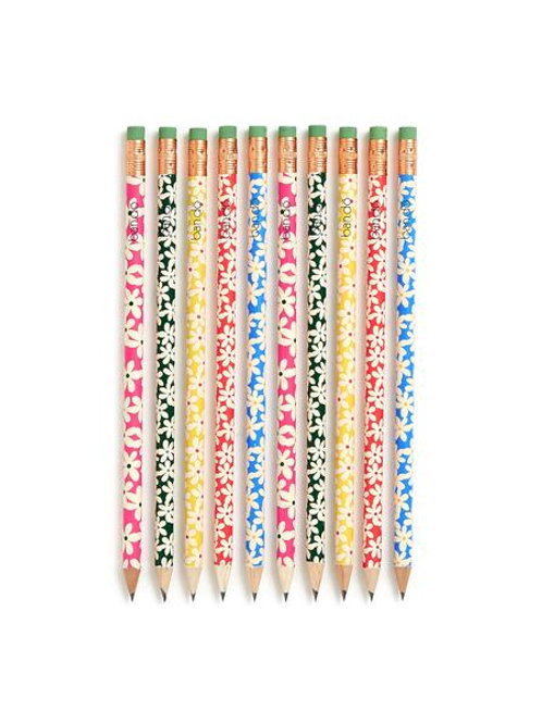 Wooden Pencils - Daisies