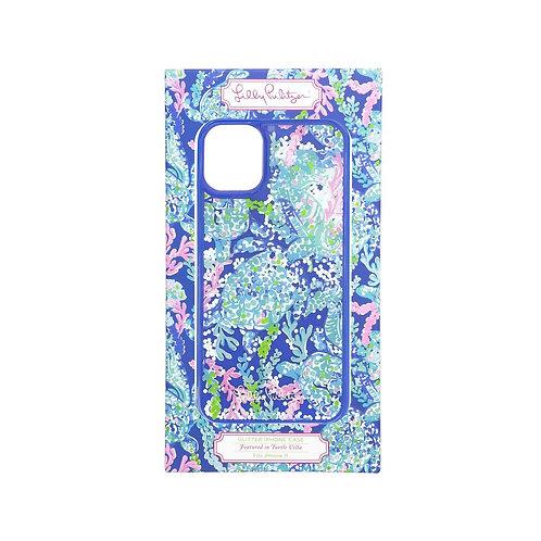lilly pulitzer iphone case 11 - glitter, turtle villa