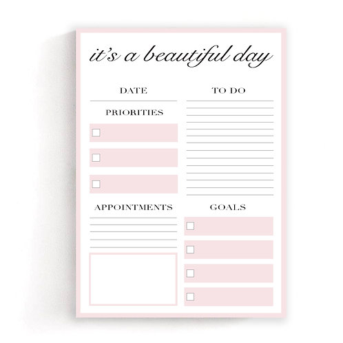 Kinsey's Collection: Pastel Pink Planner