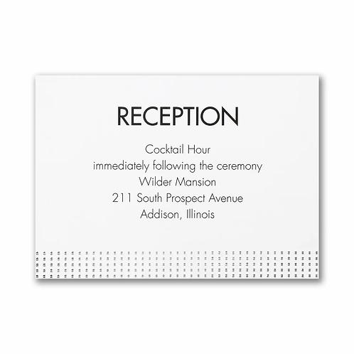 Wedding Wonder Reception Card - TWSR58338