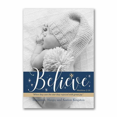 Photo Believe Postcard  YU55399FC