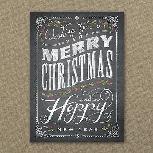 Chalkboard Merry Christmas YMM1028