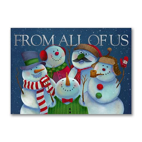 Festive Snowmen  YMM2019