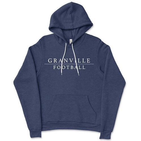 587 Navy Football Hoodie