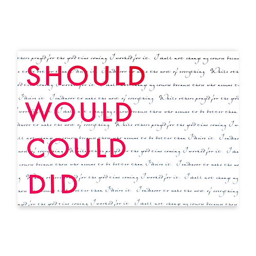 Girl Boss: Should Would Could