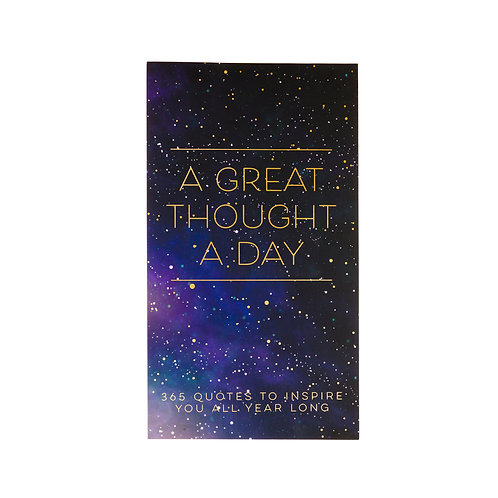 Eccolo Great Thought A Day Pad -Celestial