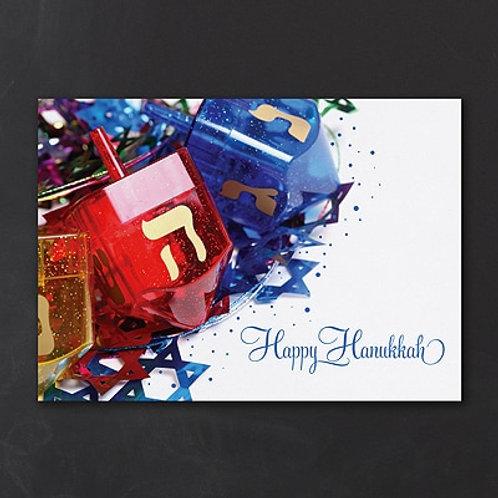 Happy Hanukkah Holiday Card  YM31085FC