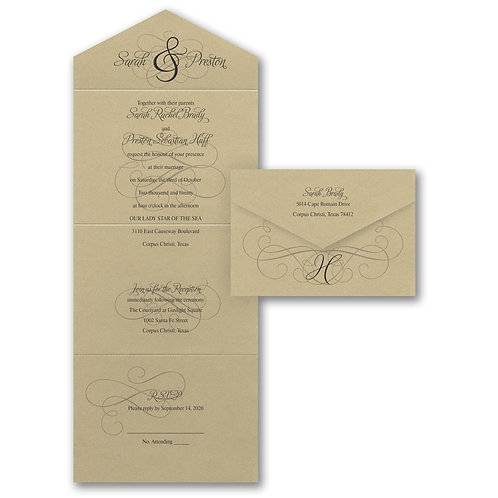 Ampersand Calligraphy - Seal 'n Send