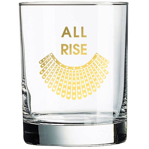 All Rise - RBG Collar - Rocks Glass