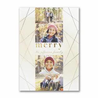 Geometric Holiday - Holiday Card YU59332