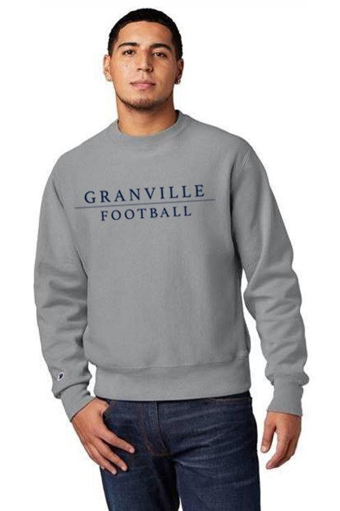 Grey Champion Football Sweatshirt