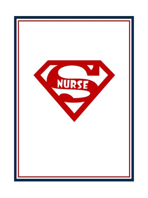 8 Nurse Greeting Card
