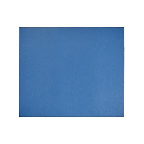 Desk Mat Blue/Taupe Combo