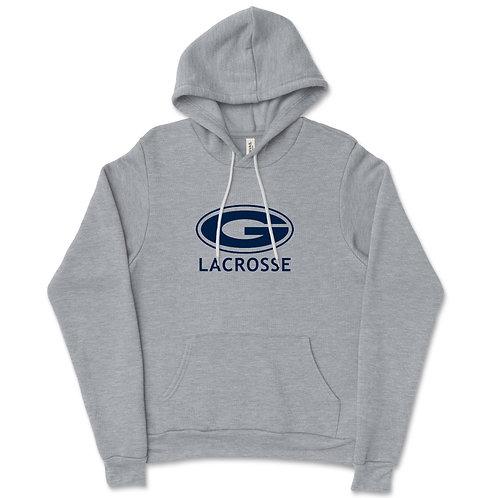 Youth Size 587Granville Grey Fleece Hooded Sweatshirt
