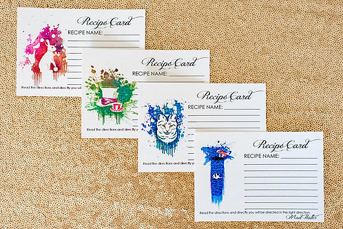 'Anytime Tea Time' Recipe Cards