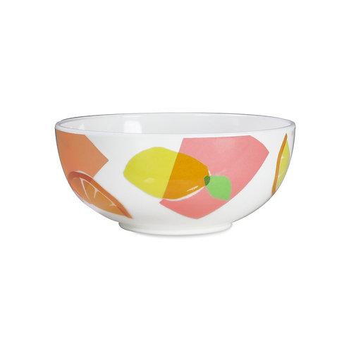 kate spade new york bowl, citrus celebration