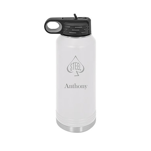 Arts Boosters - 32 oz. Metal Water Bottle