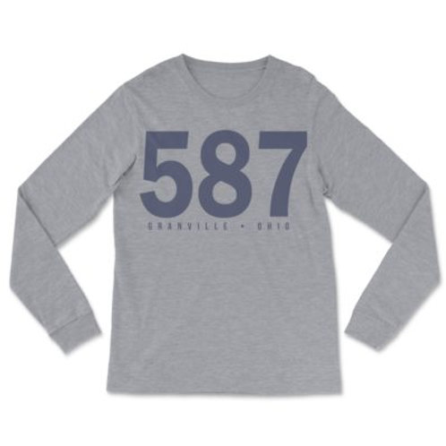 587 Gray Long Sleeve