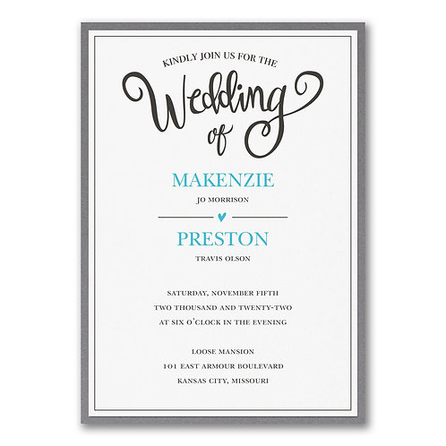 Wedding Whimsy with Backer - FBN56994C