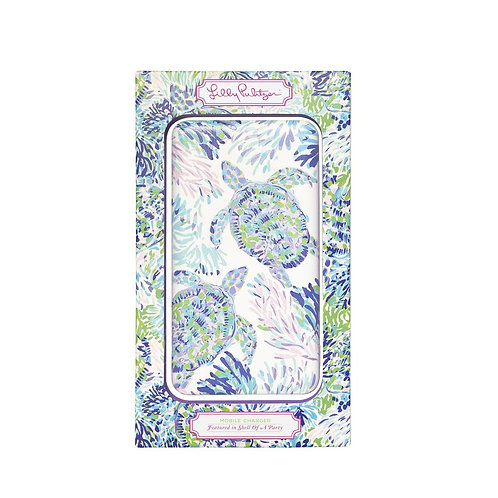 lilly pulitzer mobile charger, shell of a party