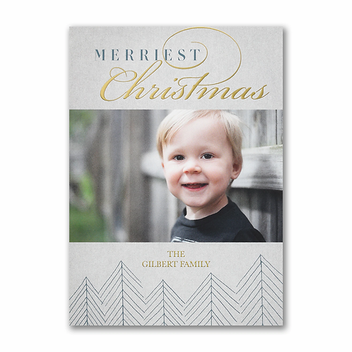 Merriest Christmas - Holiday Card YU59328