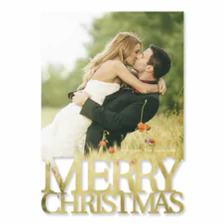 Peppermint Holiday - Photo Holiday Card YUP53866FC