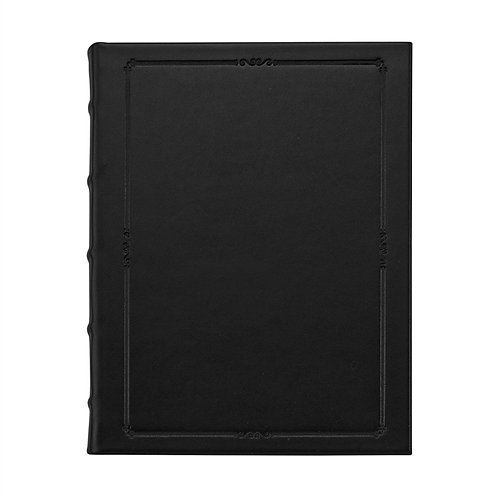"""9"""" Hardcover Journal Traditional Leather - MLL-TR1"""