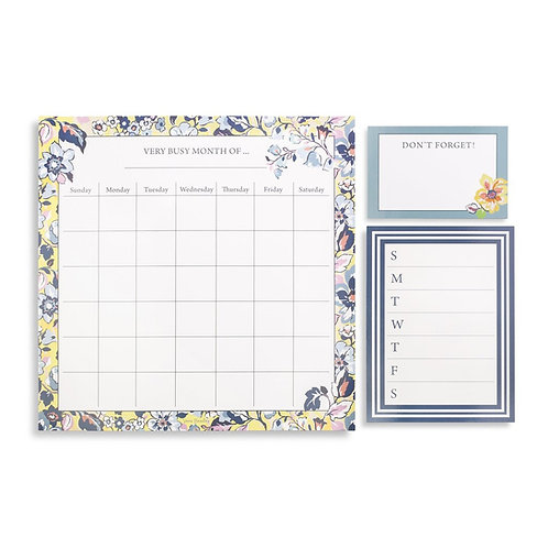 Vera Bradley Magnet Calendar, Sunny Garden