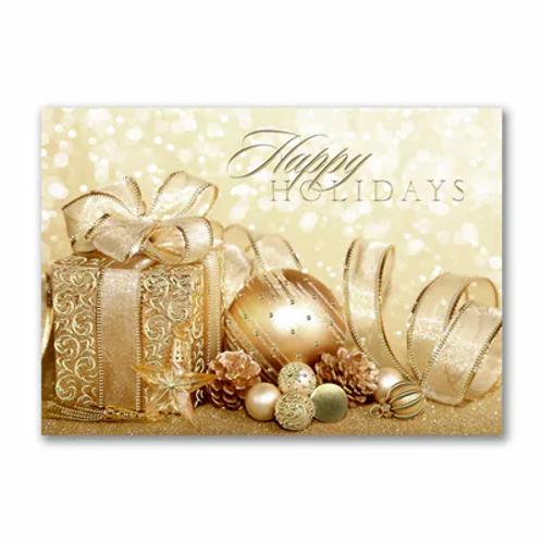 Happy Holidays Gold  YMM1761