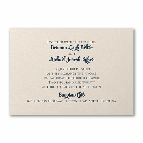 Classico Invitation -FB25535D