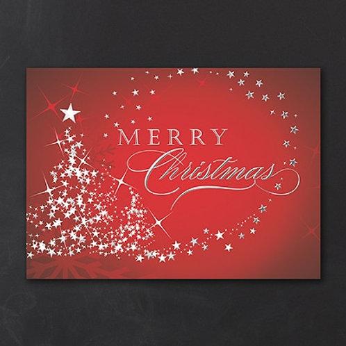Starry Tree Merry Christmas  YMM1025