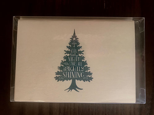 JW Oh Holy Night Christmas Tree Holiday Boxed Set