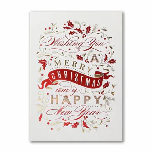 Merry Christmas Banner  YMM1782