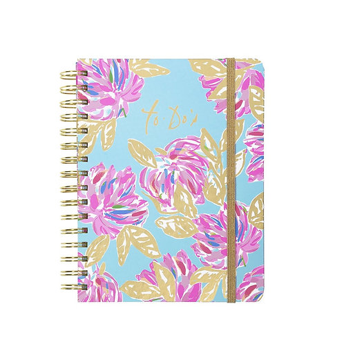 Lilly Pulitzer To Do Planner, Totally Blossom #200201