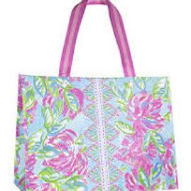 lilly pulitzer xl market shopper, totally blossom