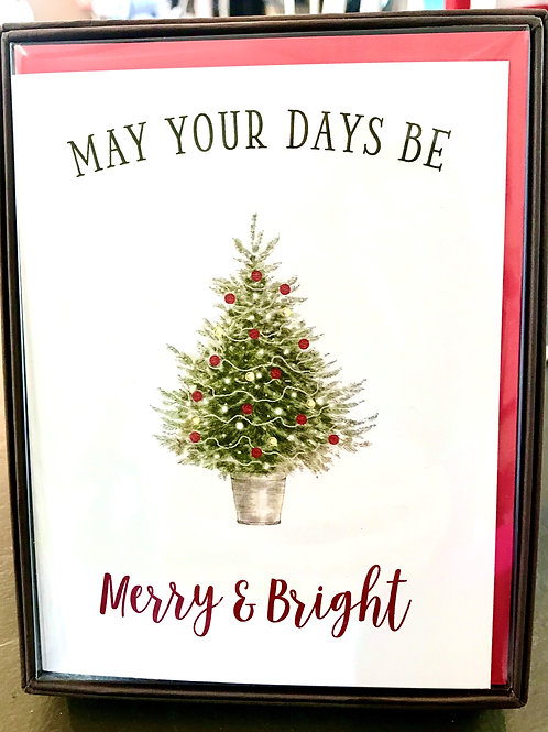Merry and Bright Card Set