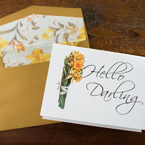Daffodil Hello Darling Box Set