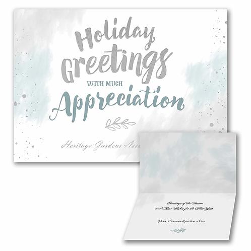 Appreciation Greetings  YU59342F