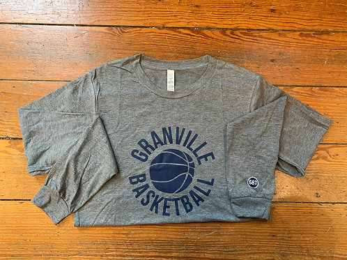 587 Granville Long Sleeve Basketball Tee