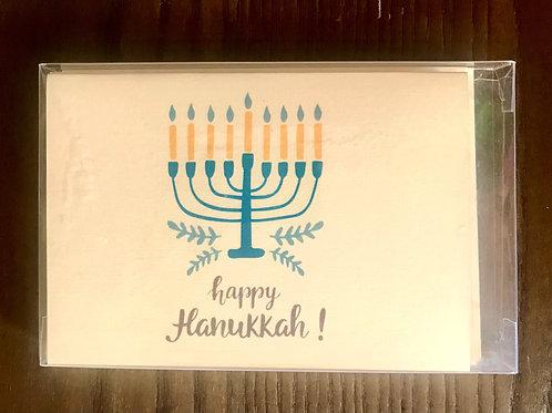JW Happy Hanukkah  Menorah Holiday Boxed Set
