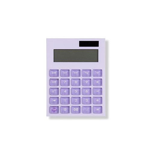 kate spade new york calculator, color block, lilac